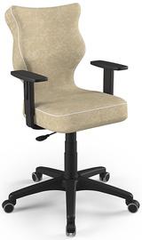 Детский стул Entelo Duo VS26, коричневый/черный, 375 мм x 1000 мм
