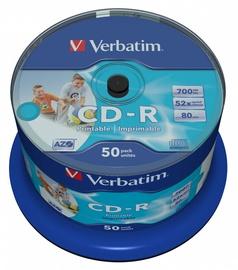 Накопитель данных Verbatim CD-R 700MB 50pcs 43438