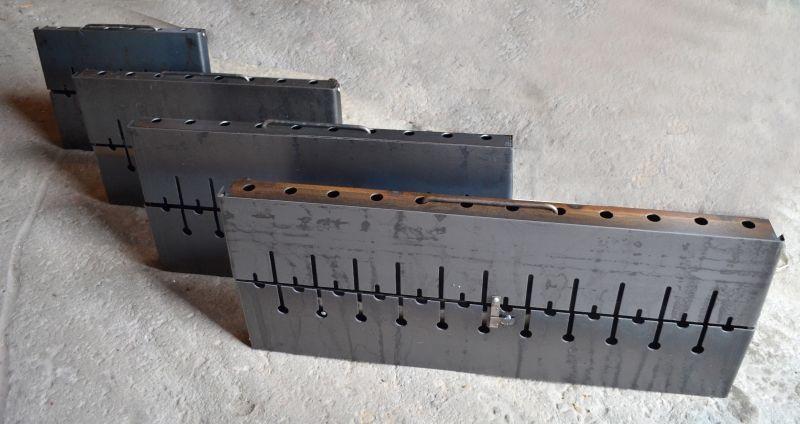 Shevlad Portable Folding Brazier for 12 Skewer