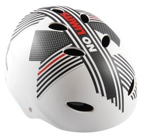 Шлем Volare No Limits, белый/красный/серый, 550 - 570 мм