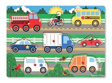 Puzle Melissa & Doug Vehicles, 8 gab.
