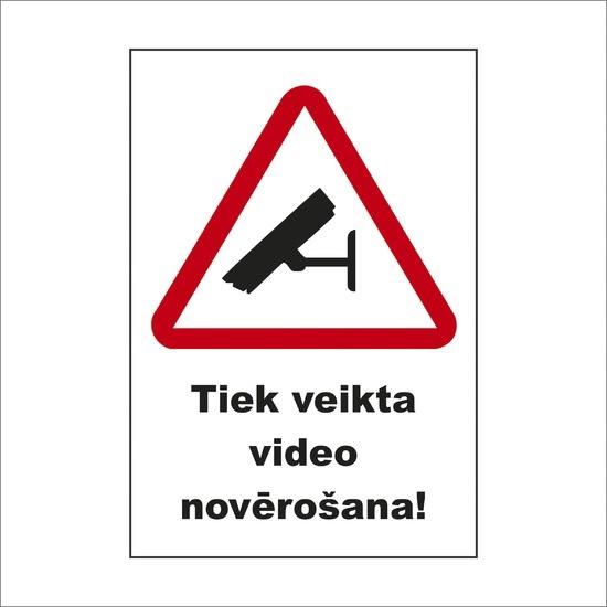 UZLĪME VIDEO NOVĒROŠANA 15X20