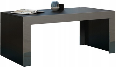 Kohvilaud Pro Meble Milano Black/Grey, 1200x600x500 mm