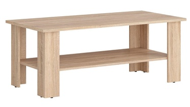 Kafijas galdiņš Black Red White Nepo Sonoma Oak, 1150x560x455 mm