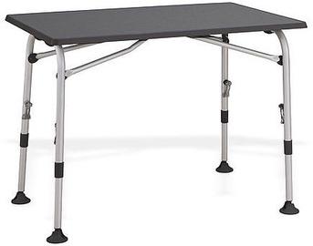 Turistinis stalas Westfield Aircolite 120, juodas, 80 x 120 x 61 - 76 cm