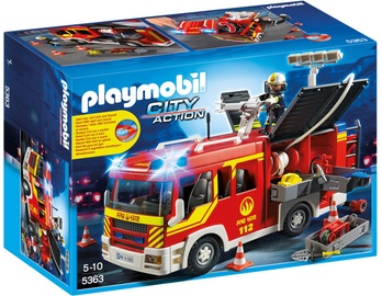 Playmobil City Action Fire Engine With Lights & Sound 5363