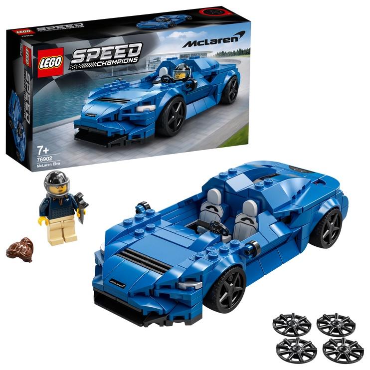 Конструктор LEGO Speed Champions McLaren Elva 76902, 263 шт.