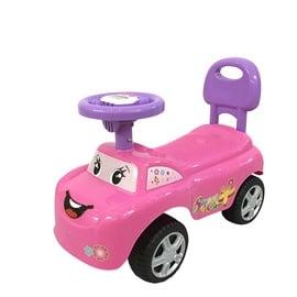 Žaislinė paspiriama mašina 618B, rožinė