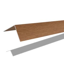 Nurgaliist PVC C25/217 25X25 mm 2.7 m tume tamm