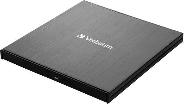 Ārējā optiskā ierīce Verbatim External Slimline Blu-ray USB 3.1 Gen1 Type-C