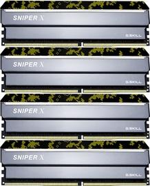 G.SKILL Sniper X Digital Camo 32GB 2400MHz CL17 DDR4 KIT OF 4 F4-2400C17Q-32GSXK