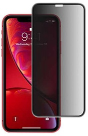Devia Real Series 3D Full Screen Privacy Glass For Apple iPhone XR Black
