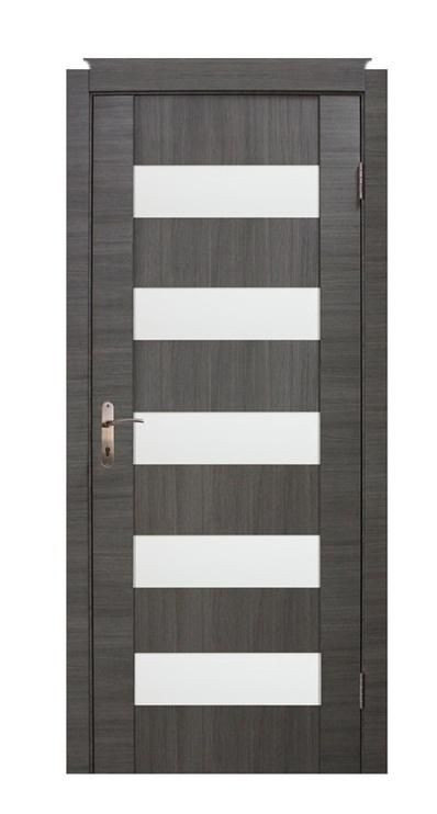 Vidaus durų varčia Cortex, pilko ąžuolo, 200x80 cm