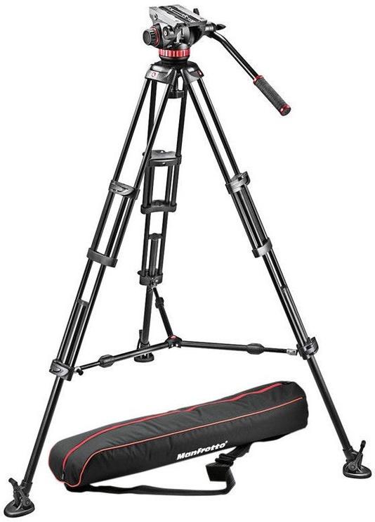 Manfrotto 546BK-1 + MVH502A Pro Video