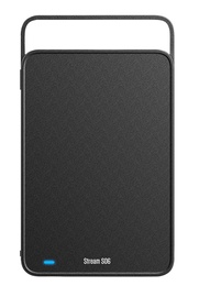 "Silicon Power 2TB Stream S06 3.5"" USB 3.0 Black"