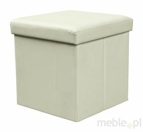 Пуф Halmar Moly Cream, 38x38x38 см