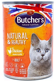 Butchers Natural&Healthy Chunks In Jelly Chicken 400g