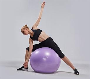 Nesprogstantis gimnastikos kamuolys Head HA756, Ø 75 cm, su pompa