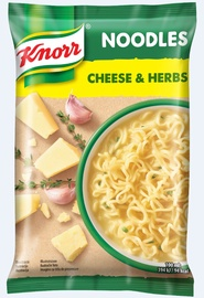 Greito paruošimo makaronai Knorr, sūrio ir žolelių, 61 g