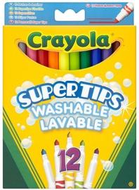 Crayola Super Tips Washable Markers 12pcs