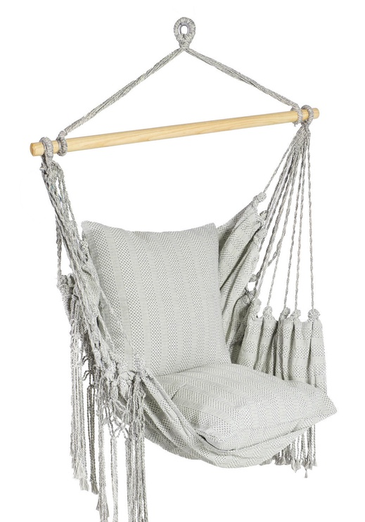 Home4you Lazy Grey Hanging Chair Grey