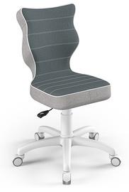Детский стул Entelo Petit CR06, синий/белый, 350 мм x 830 мм