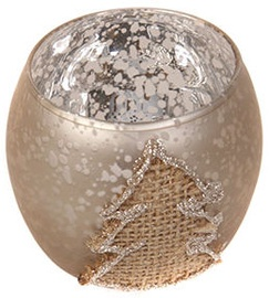 Verners Candle Holder 7.8x6.8cm Gold