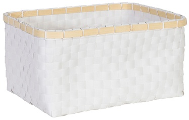 Home4you Basket Lido 1 34x25xH16cm White