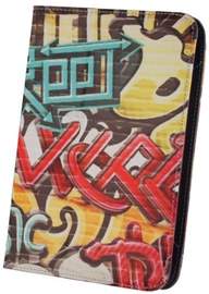 "GreenGo Universal Book Case With Stand 7-8"" Graffiti Street"