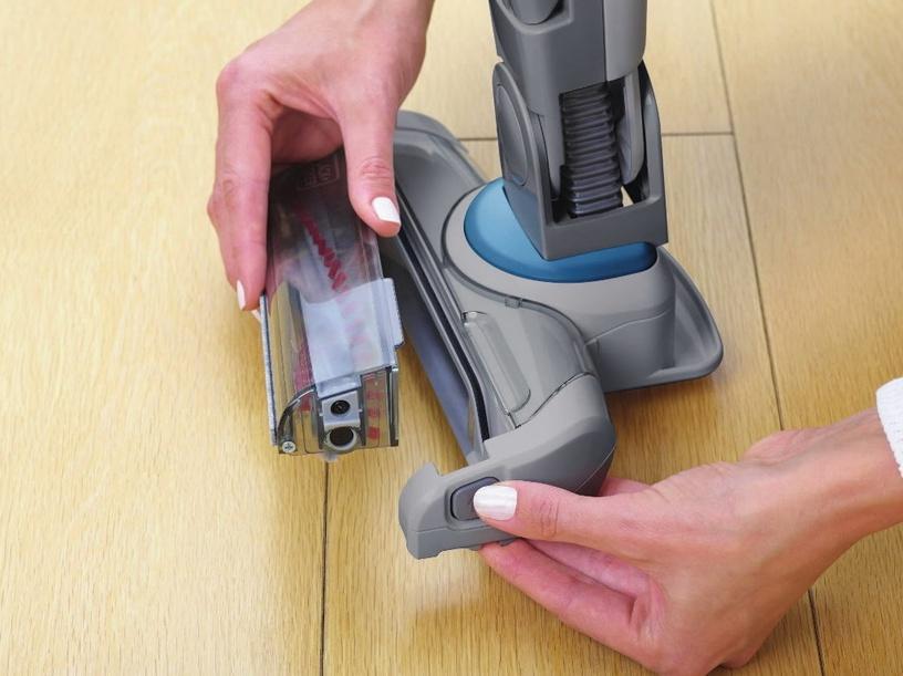 Dulkių siurblys Black+Decker SVJ520BFS Vacuum Cleaner 2in1