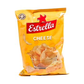 Bulvių traškučiai Estrella, sūrio skonio, 130 g