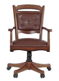 Black Red White Bawaria Dfot II Office Chair Brown
