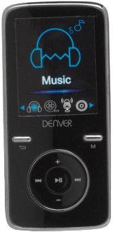 Музыкальный проигрыватель Denver MPG-4054 NRC, черный, 4 ГБ
