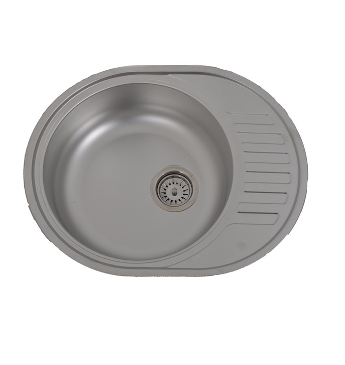 Мойка Asil Krom Sink Linen AS03 With Siphon AS1007