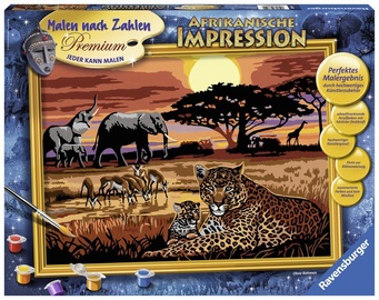 Ravensburger Painting By Numbers African Impressions 288199