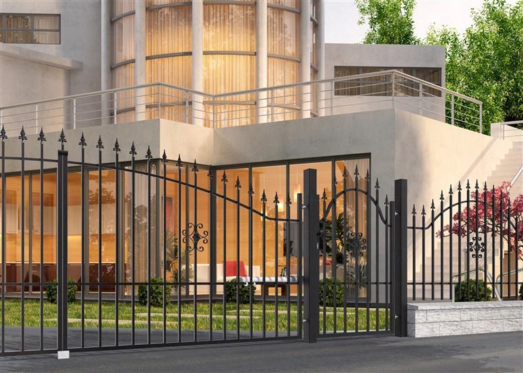 Ворота Polargos Rodos 2 W3963, 400 см x 150 см
