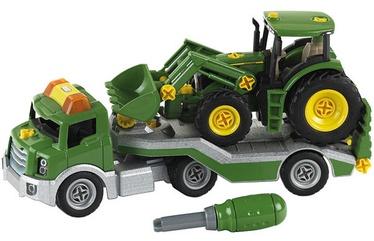 Klein John Deere Transporter With John Deere Tractor 3908