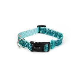 Beeztees Dog Collar Geo Green 26-40x1.5cm