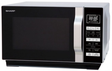 Sharp Solo Flat Tray Microwave R-360S Silver