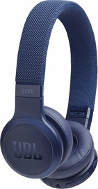 Ausinės JBL Live 400BT Blue