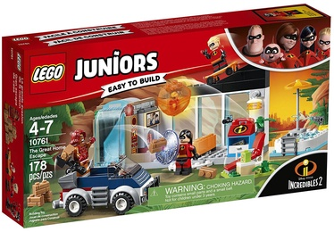 Konstruktors LEGO Juniors The Great Home Escape 10761