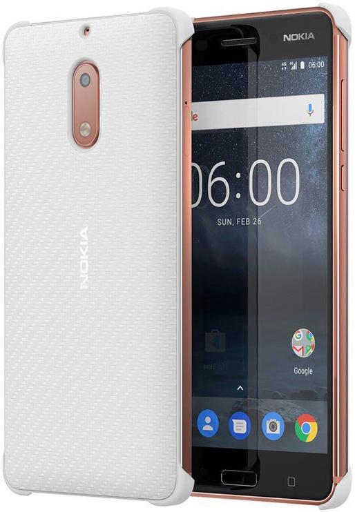 Nokia Back Case CC-802 For Nokia 6 Pearl White