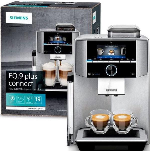Kavos aparatas Siemens EQ.9 Plus TI9558X1DE Grey