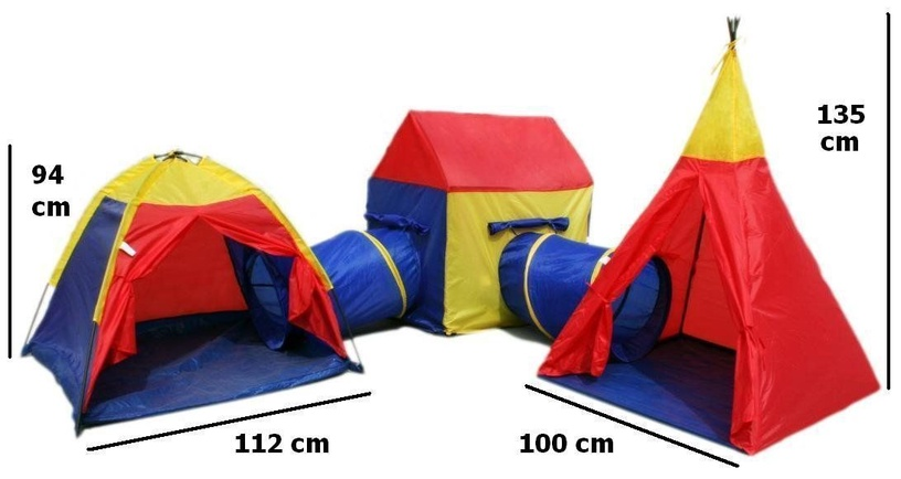 EcoToys Tent 5-In-1 NA-8906
