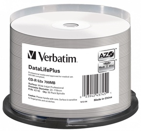 Verbatim CD-R 700MB 50pcs 43745