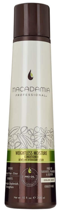 Plaukų kondicionierius Macadamia Weightless Moisture Conditioner, 300 ml