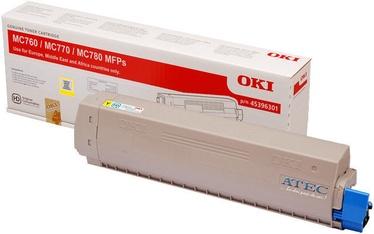Tonera kasete Oki C760 Toner 6K Yellow