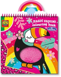 SES Creative Magic Sequins Colouring Book
