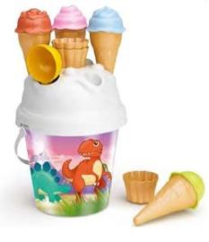 Набор игрушек для песочницы Dinosaur With Ice Cream Molds, многоцветный, 10 шт.