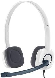 Ausinės Logitech H150 White